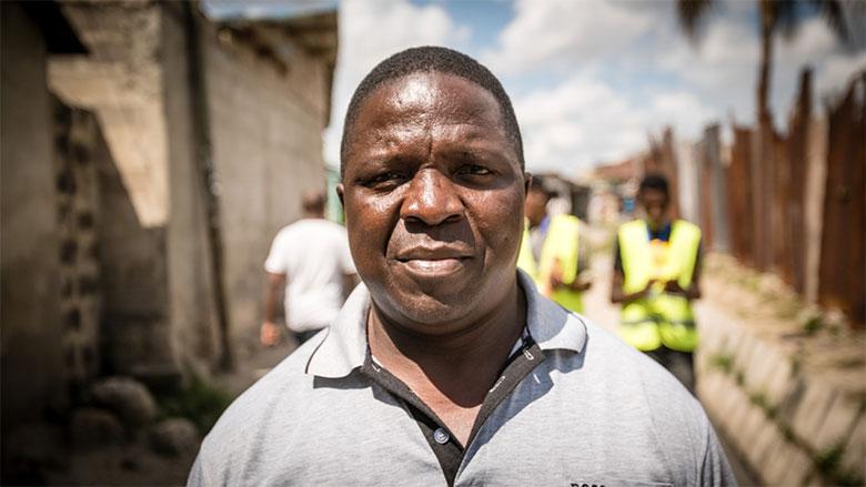 Community leader Roya Makolo in Manzese