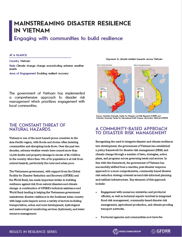 An Integrated Approach Disaster Resilience