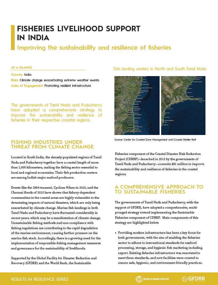 Fisheries Livelihood Support in India