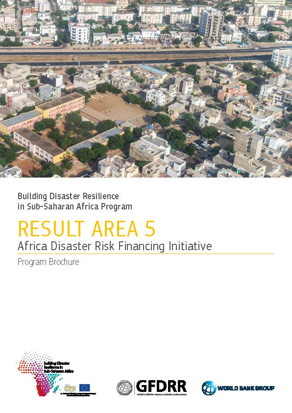 Program Brochure: Africa Disaster Risk Financing Initiative