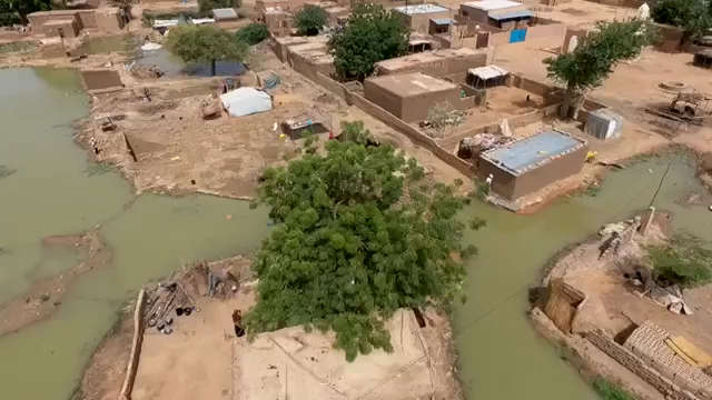 Understanding Flood Vulnerability in Niger through Drones, Open Street Mapping and Flood Modeling