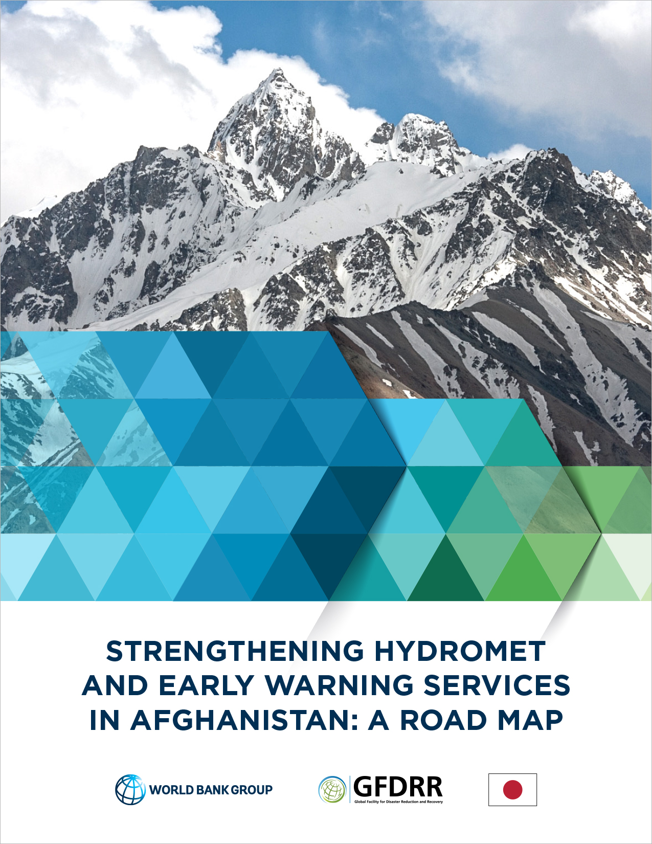Cover of Afghanistan hydromet roadmap document