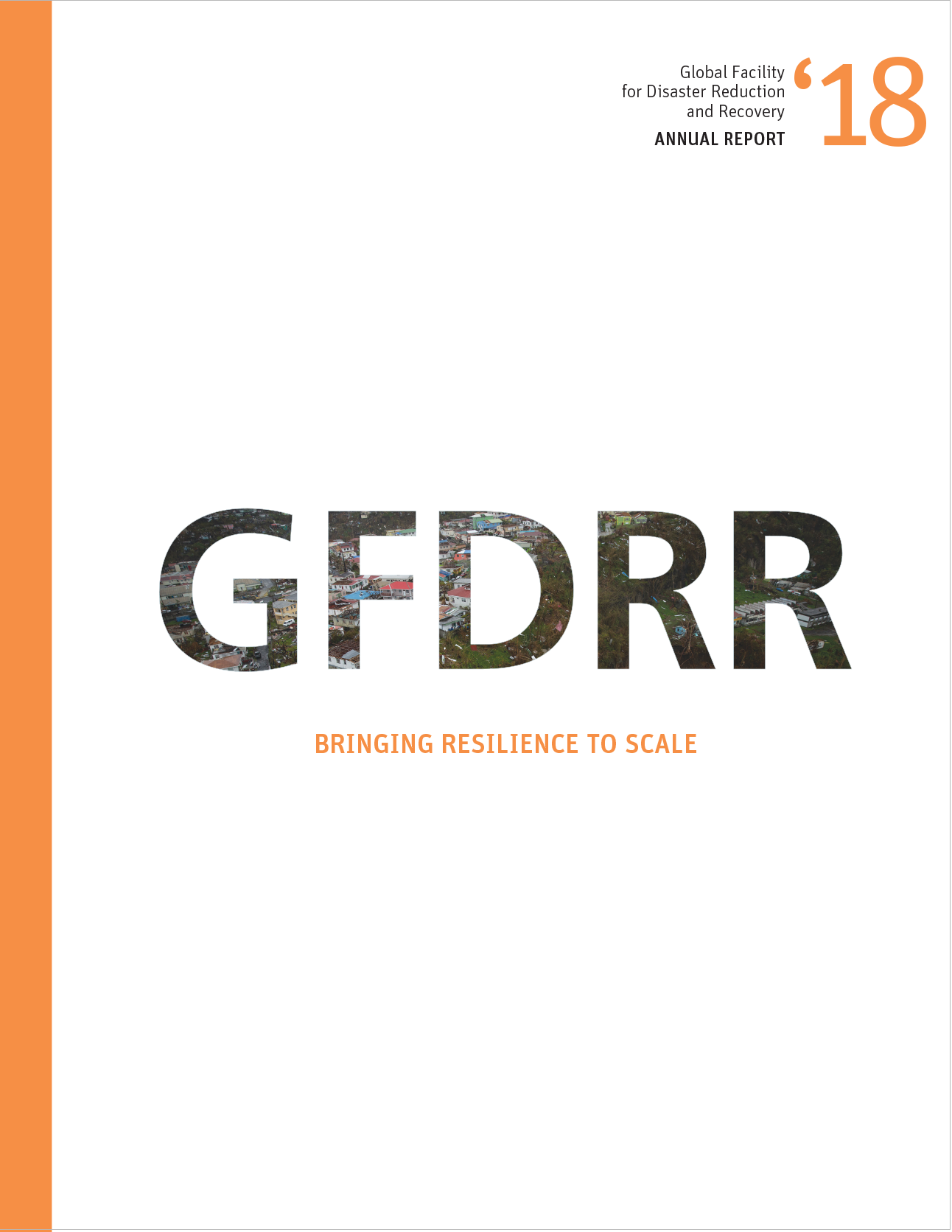 GFDRR Annual Report for Fiscal Year 2018