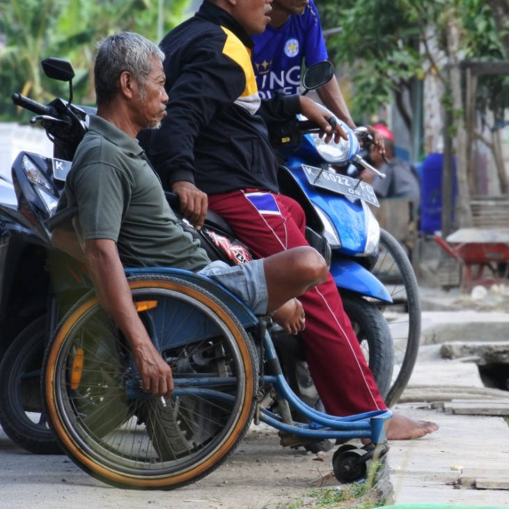 An estimated 12% of Indonesians have a disability and this figure is expected to rise.