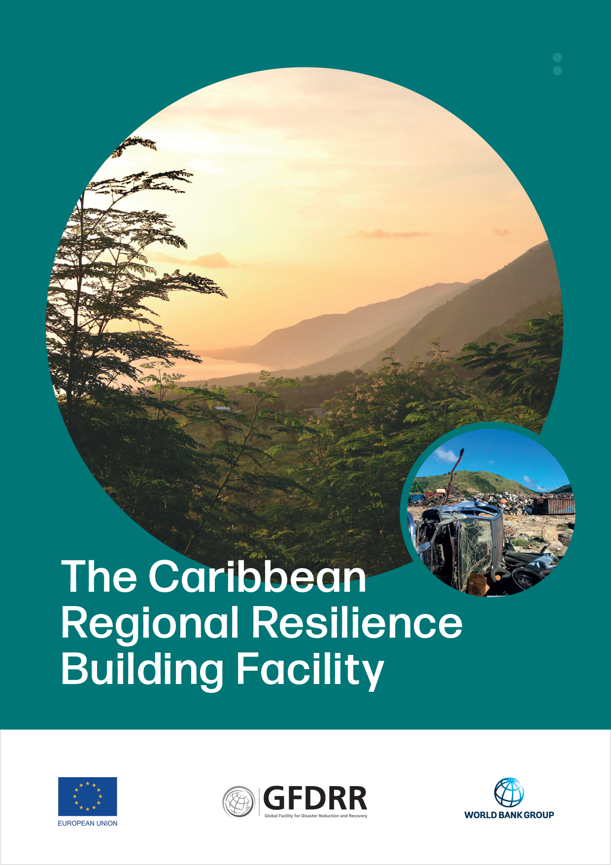Brochure for the Caribbean Regional Resilience Building Facility