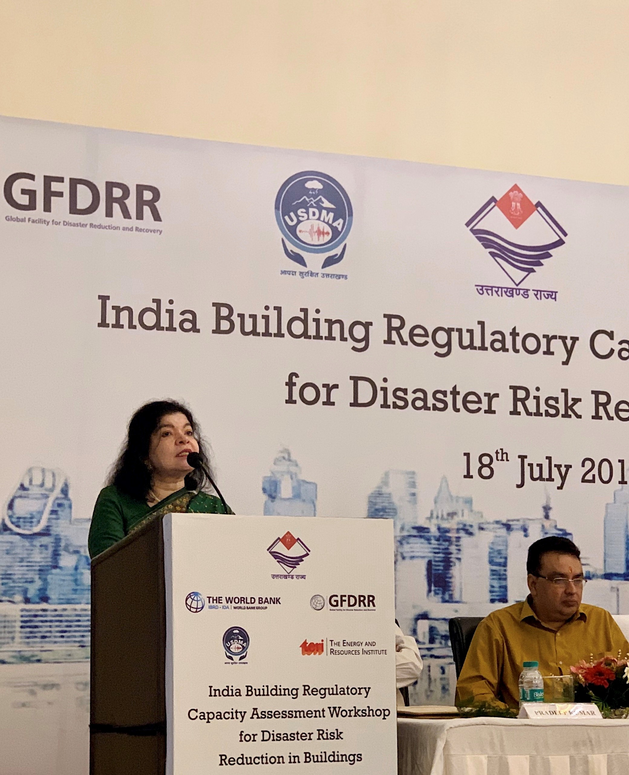 Doctor Alpa Sheth presents a review of building regulatory capacity in Jammu & Kashmir and Ladakh