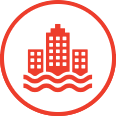 Urban Flood icon