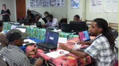Spatial data management and identification of the most vulnerable schools and shelters in Dominica