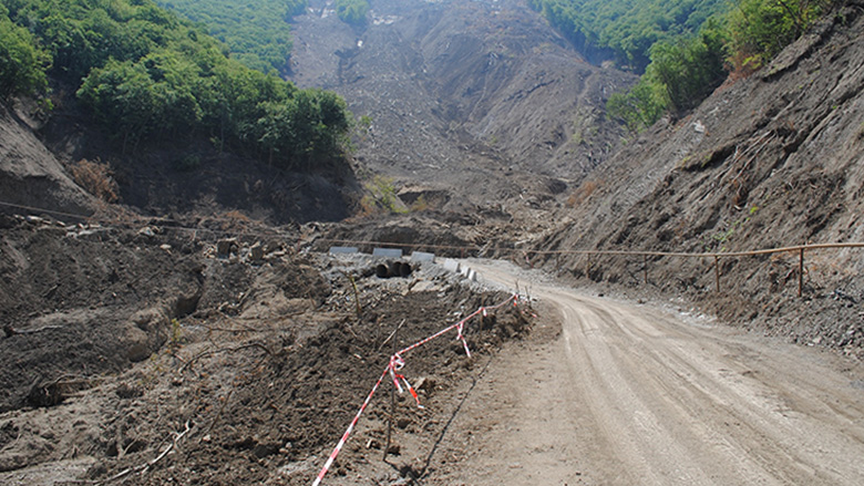 Georgia landslides