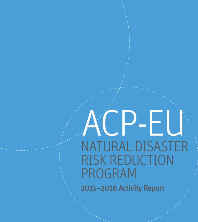 Activity Report ACP-EU NDRR Program (2015-2016)