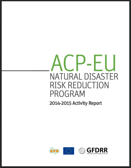 ACP-EU NDRR Program Activity Report (2014-2015)