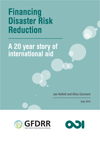 """This is the cover image for """"Financing Disaster Risk Reduction."""""""