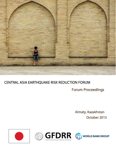 Central Asia Earthquake Risk Reduction Forum
