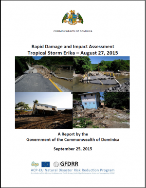 Dominica Rapid Damage and Impact Assessment: Tropical Storm Erika – August 27, 2015