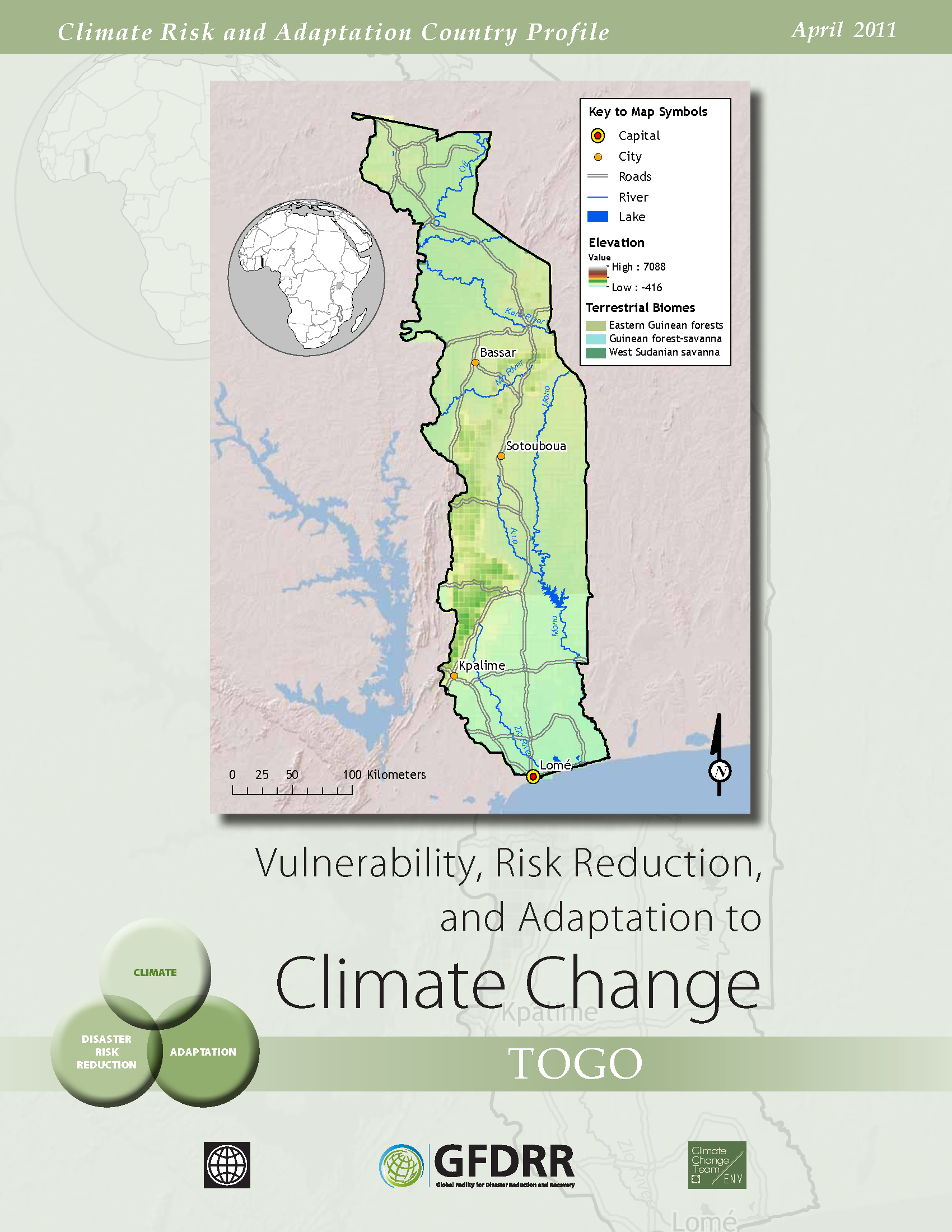 Climate Risk and Adaptation Country Profile: Togo