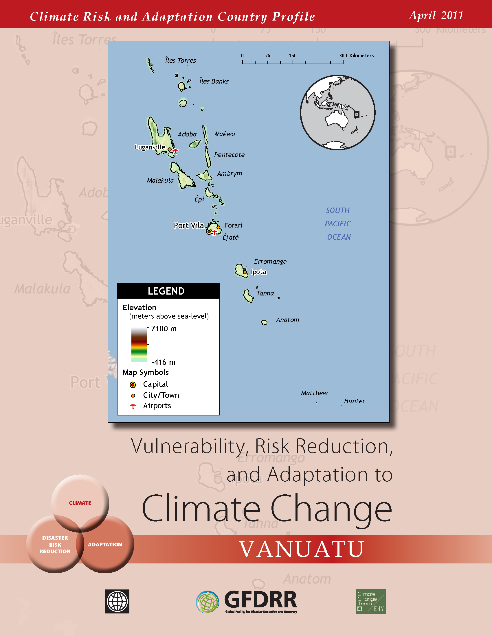 Climate Risk and Adaptation Country Profile: Vanuatu