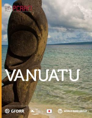 This is the cover for the country note on vanuatu