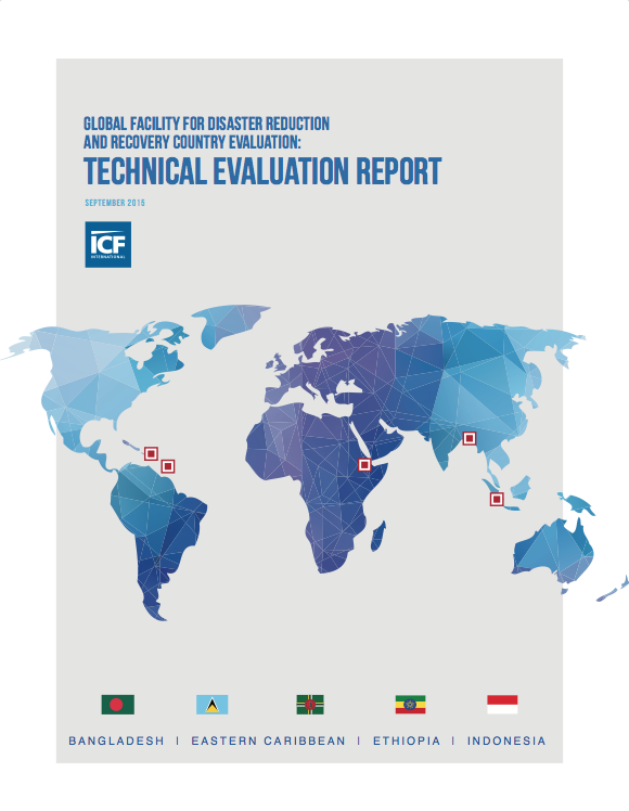 This is the cover for the ICF Technical Evaluation Report 2016