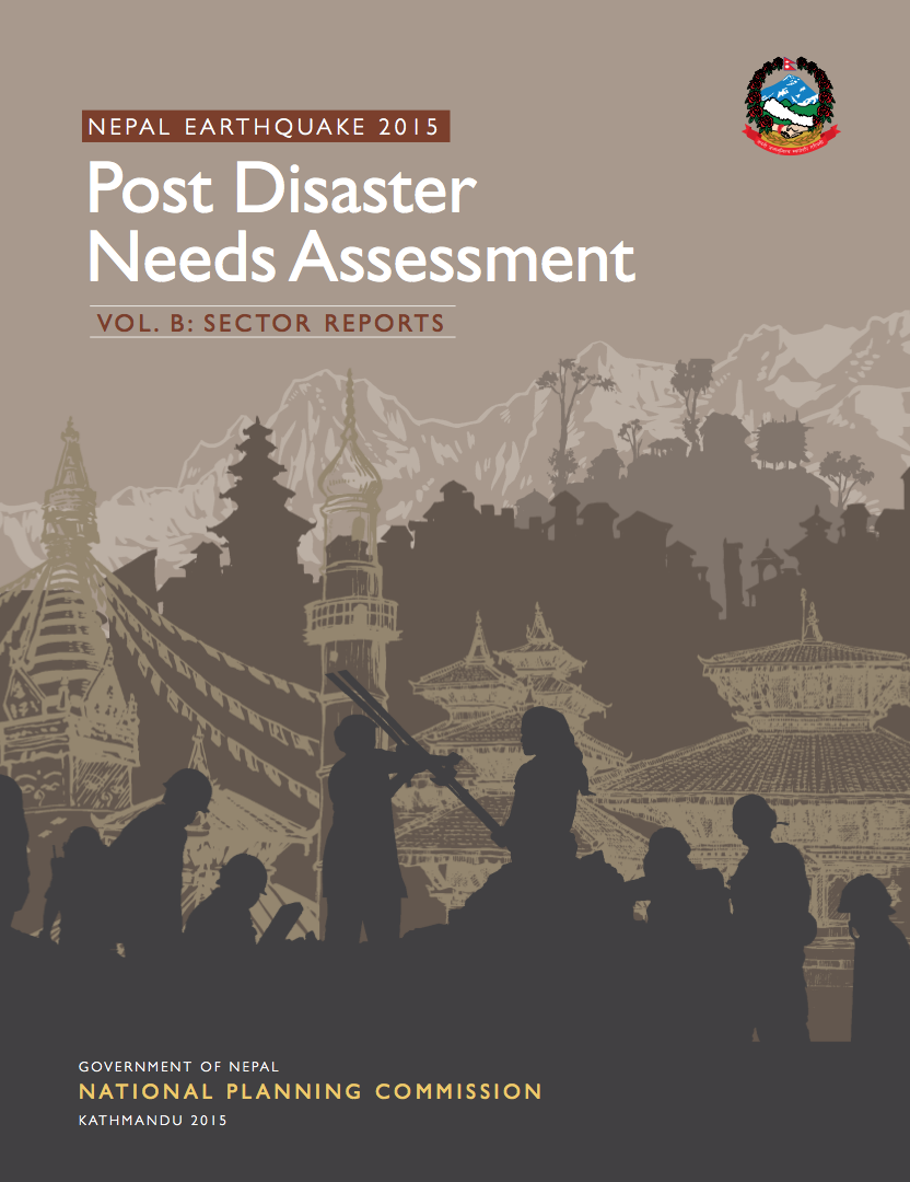 Post Disaster Needs Assessment Cmd Concentrace Trace Mineral 4000 Drops Pda 2015 Nepal Volb Cover
