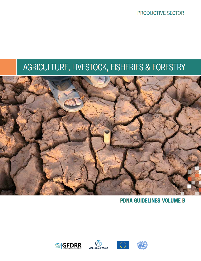 This is the cover for the pdna guidelines volume b agriculture