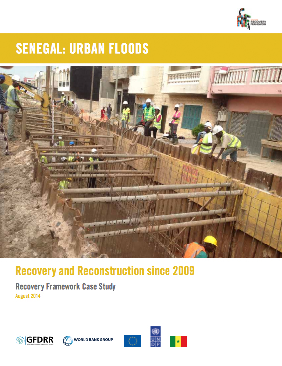 Senegal Urban Floods: Recovery and Reconstruction since 2009