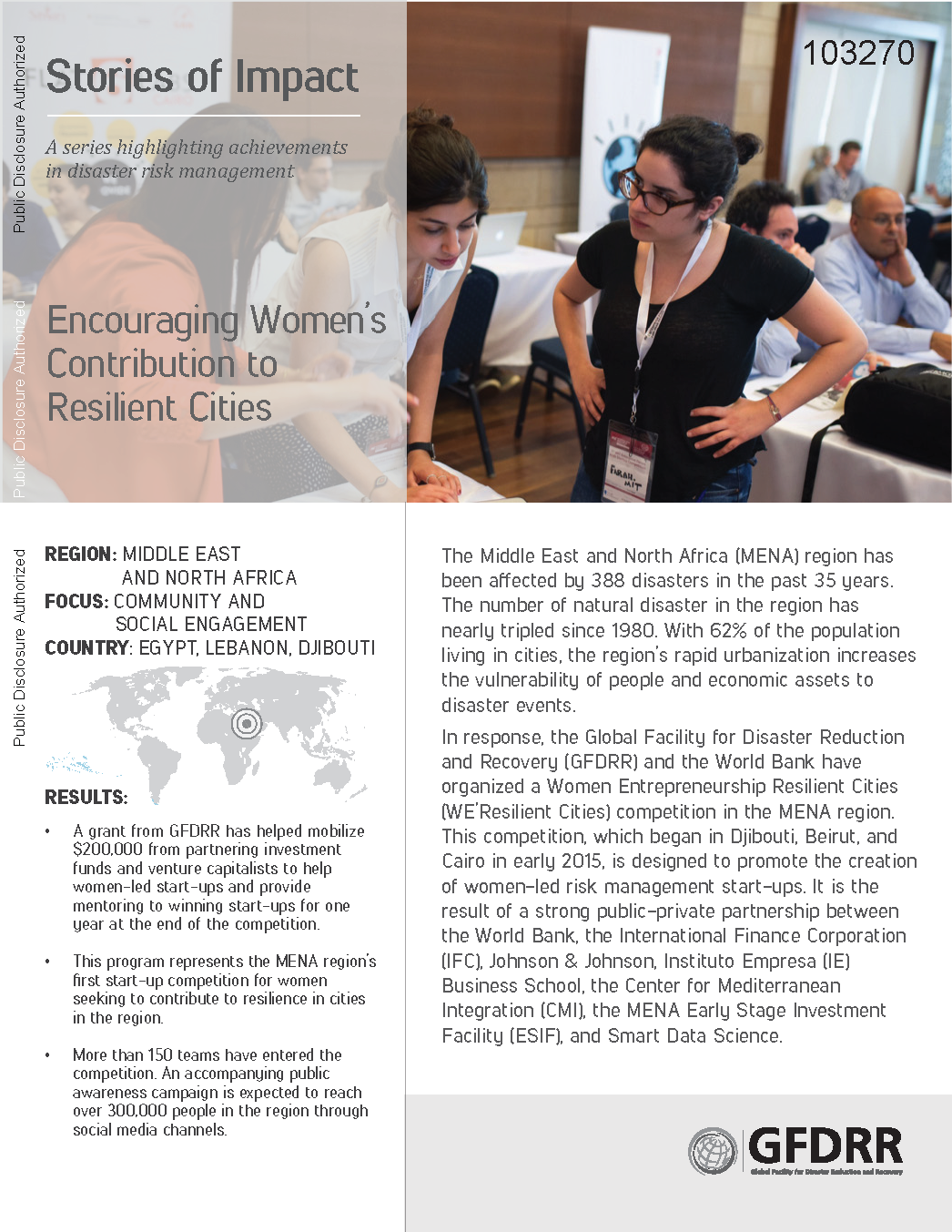 Stories of Impact: Encouraging Women's Contribution to Resilient Cities