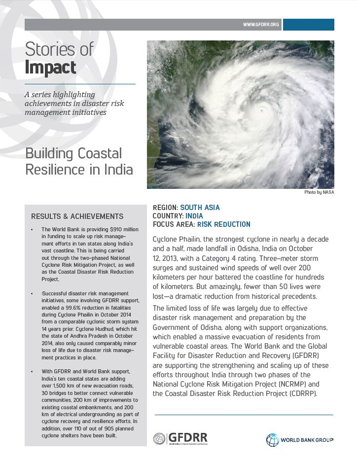 This is the cover for the stories of impact on India