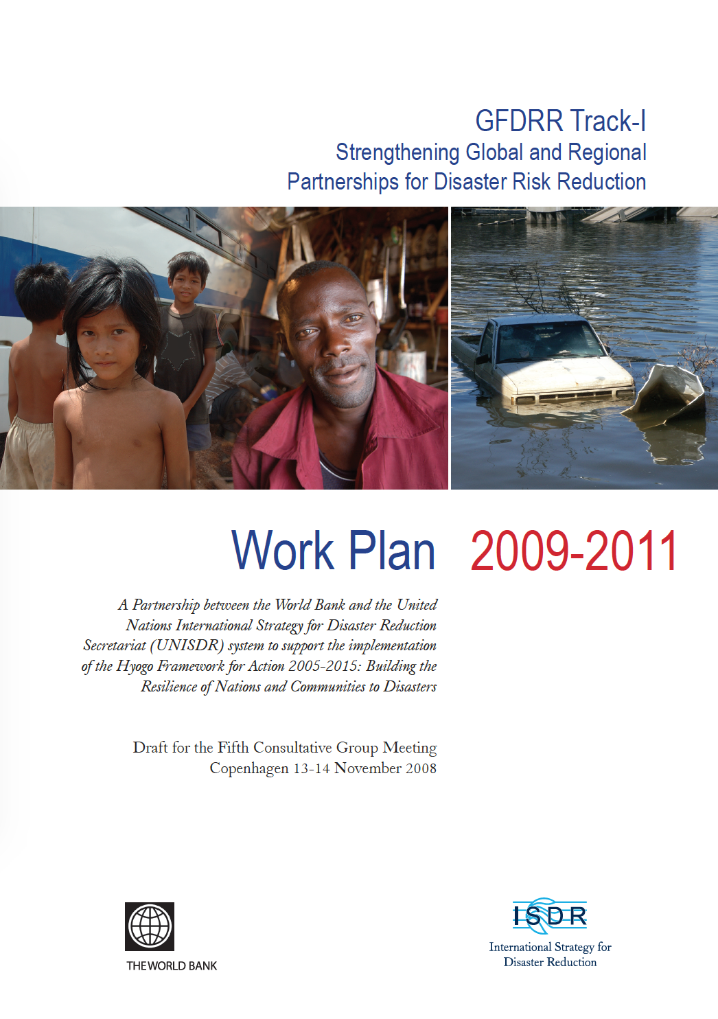 This is the cover for the Work Plan 2009 to 2011
