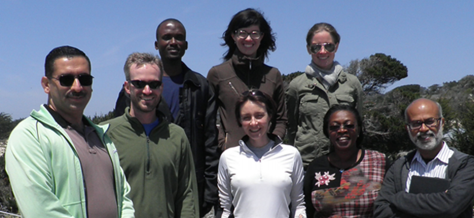 The Housner Fellows meet at their leadership training week in Asilomar, California, in June 2012.