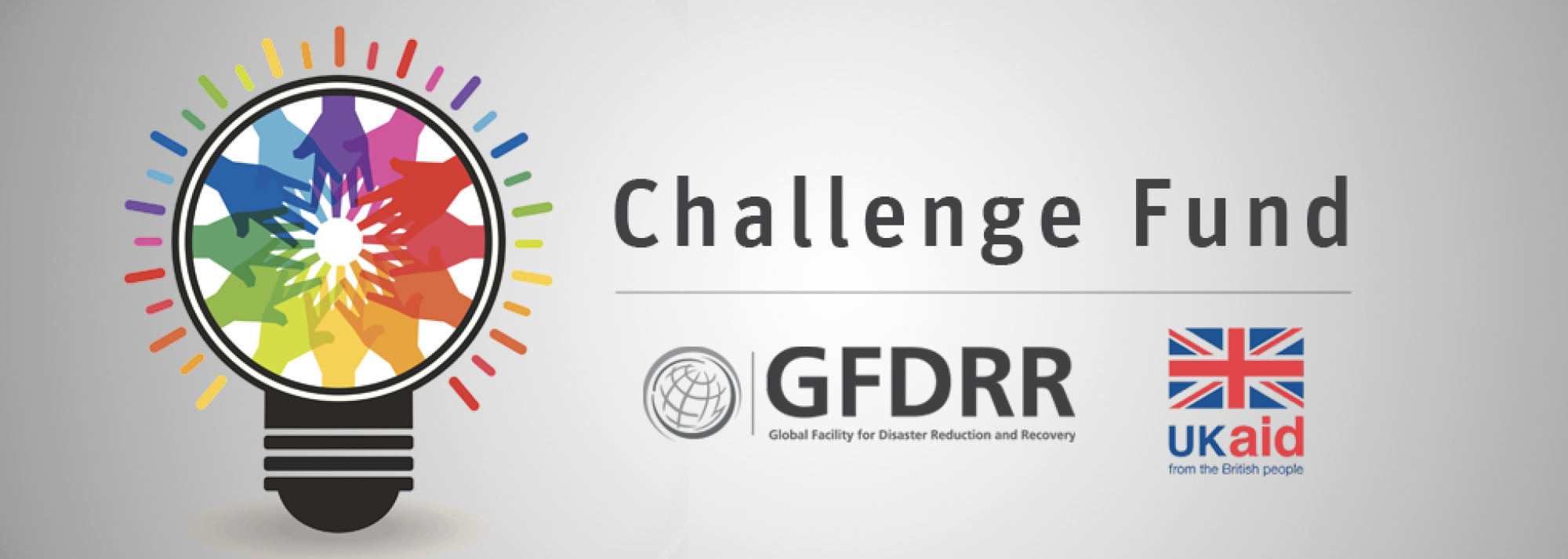 GFDRR and DFID announce a challenge fund.
