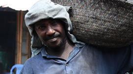 Man in somalia