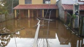 A house after a flood in Bolivia. World Bank.