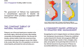 Results in Resilience: Mainstreaming Disaster Resilience in Vietnam