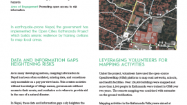 Results in Resilience: Open Cities Kathmandu Project