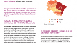 Gender Inclusion in Post-Disaster Housing in India
