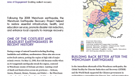 Supporting Resilient Post-Earthquake Recovery in China