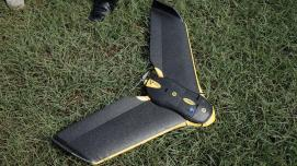 The eBee, a light-weight Sensefly product, is used by the Zanzibar Mapping Initiative team to conduct aerial surveys