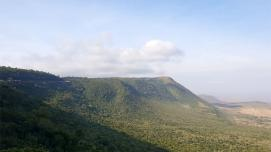 A view of East Africa's Rift Valley, home to the world's largest seismic rift system. Photo : J. Waturi/World Bank