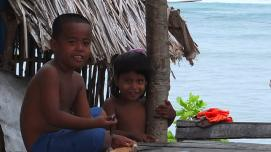 Children in Kiribati