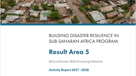 adrf activity report 2017-2018 cover