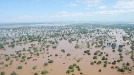 Mozambique floods in 2013