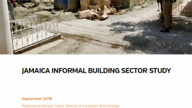 Jamaica Informal Building Sector Study