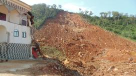 Landslide in Freetown