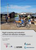 Rapid screening and evaluation of flood risk reduction strategies