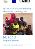 ACP-EU NDRR Program Progress Report (2011-2013)