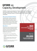 This is the cover image for the thematic note on capacity development.