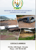 Brochure: Development of Comprehensive (National and Local) Disaster Risk Profiles for enhancing Disaster Management in Rwanda Project (MIDIMAR Rwanda)