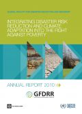 This is the cover image for the 2010 GFDRR Annual Report.