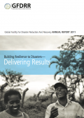 This is the cover image for the 2011 GFDRR Annual Report.