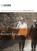 This is the cover image for the 2012 GFDRR Annual Report.
